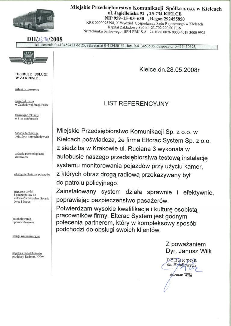 MPK list referencyjny