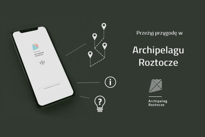 Aplikacja mobilna dla Archipelagu Roztocze w Budach