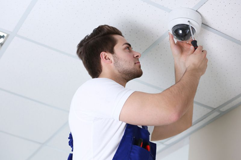 Montaż kamery CCTV