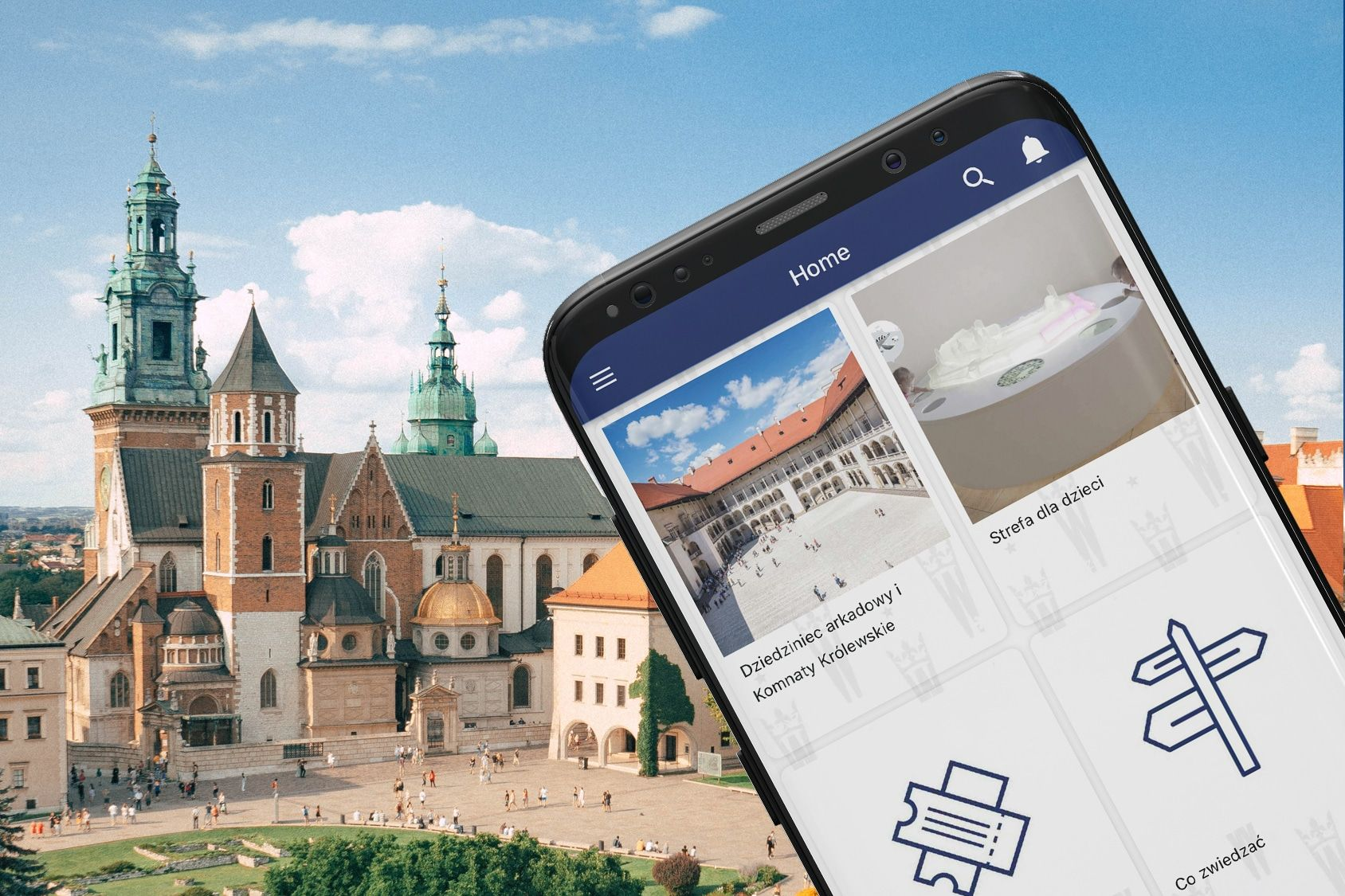 Aplikacja na Wawelu